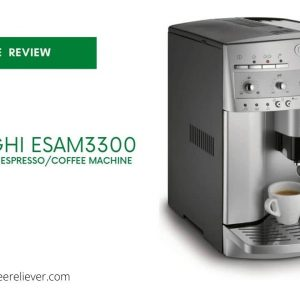This is pictrure of De'Longhi ESAM3300 Magnifica Automatic Espresso & Coffee Machine