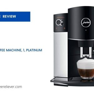 Jura D6 Automatic Coffee Machine, 1 Platinum
