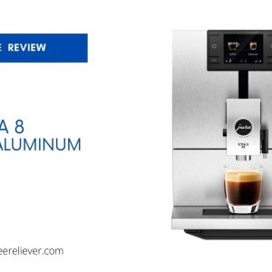 Jura ENA 8 Massive Aluminum Coffee Machine