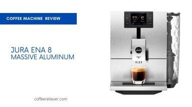 Jura ENA 8 Massive Aluminum Coffee Machine