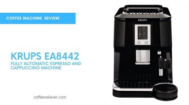 This is Picture KRUPS EA8442 Falcon Fully Automatic Espresso and Cappuccino Machine