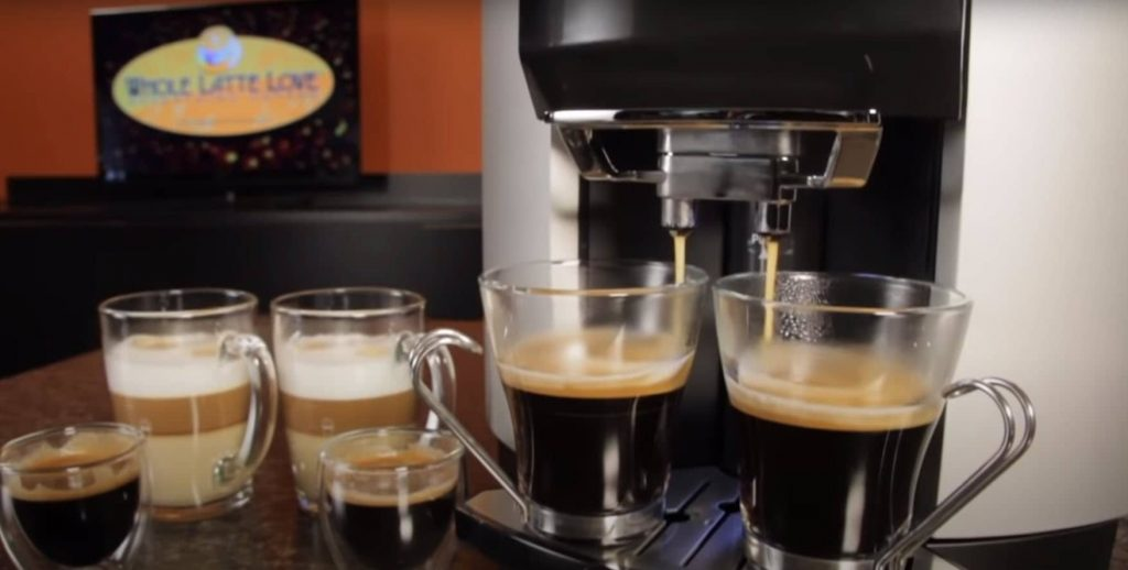 This is picture KRUPS EA9010 Fully Auto Cappuccino Machine Espresso Maker Review