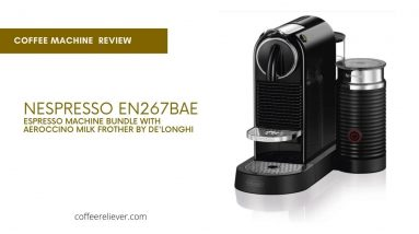 Nespresso CitiZ Original coffee machine