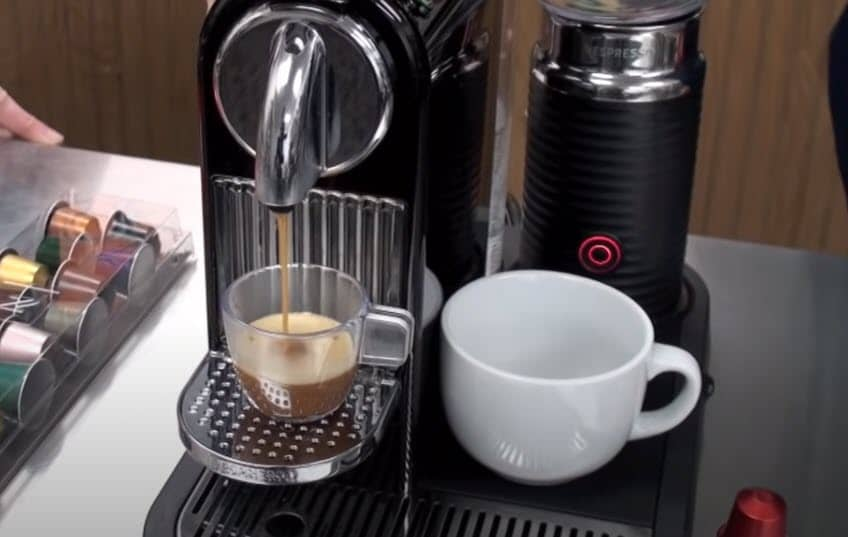 Nespresso CitiZ Original coffee machine