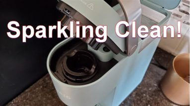 this is picture how to clean a keurig mini