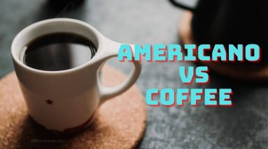 Learning about Americano VS Brewed Coffee from Popular Products