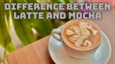 difference between latte and mocha