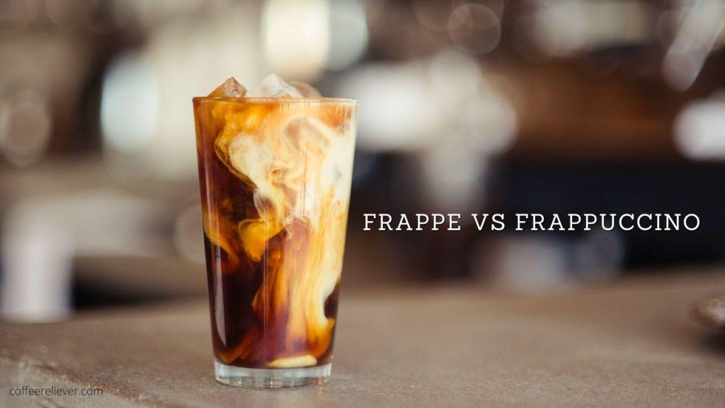 frappe vs frappuccino